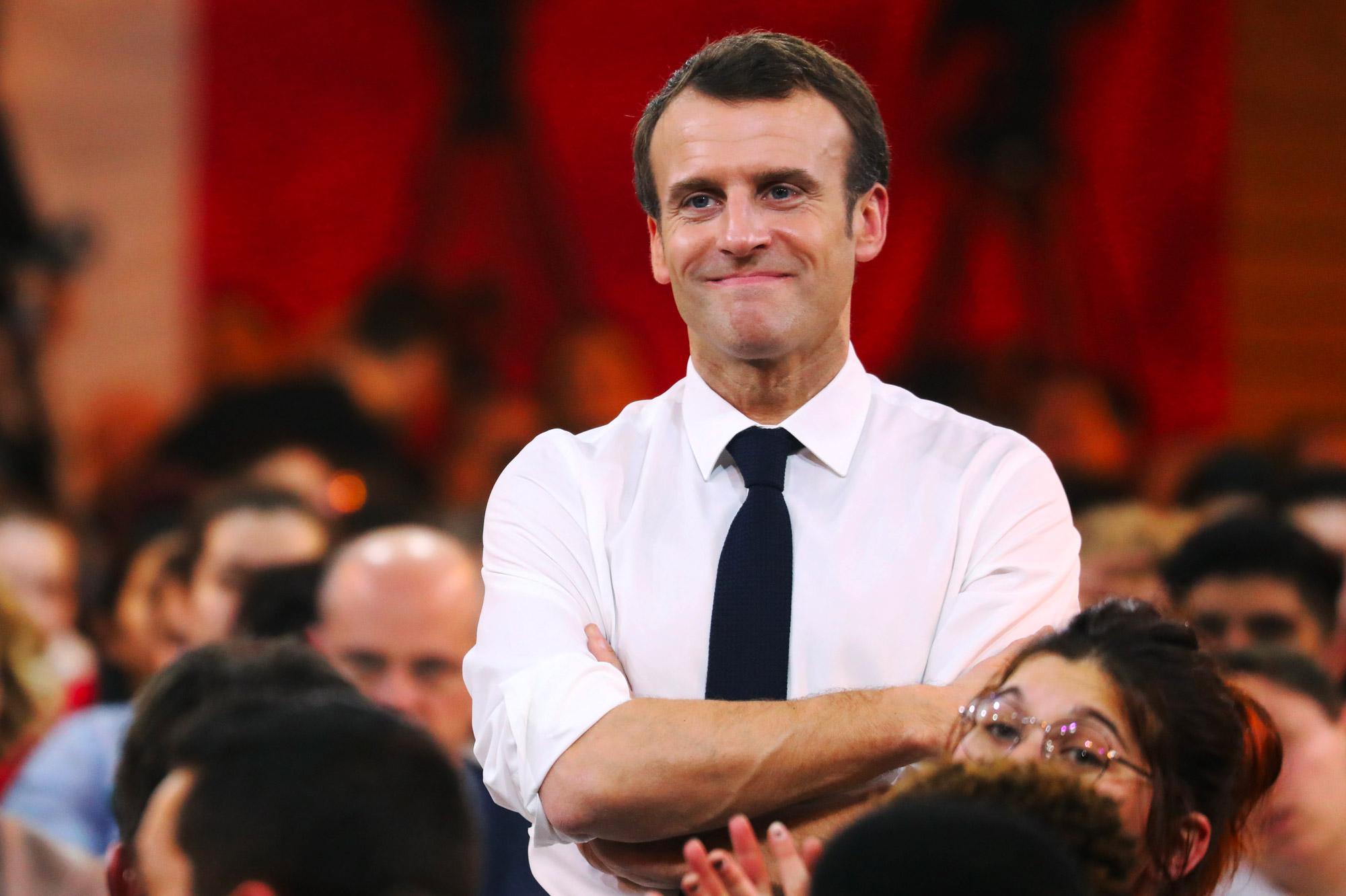 Grand débat avec des jeunes en Saône-et-Loire