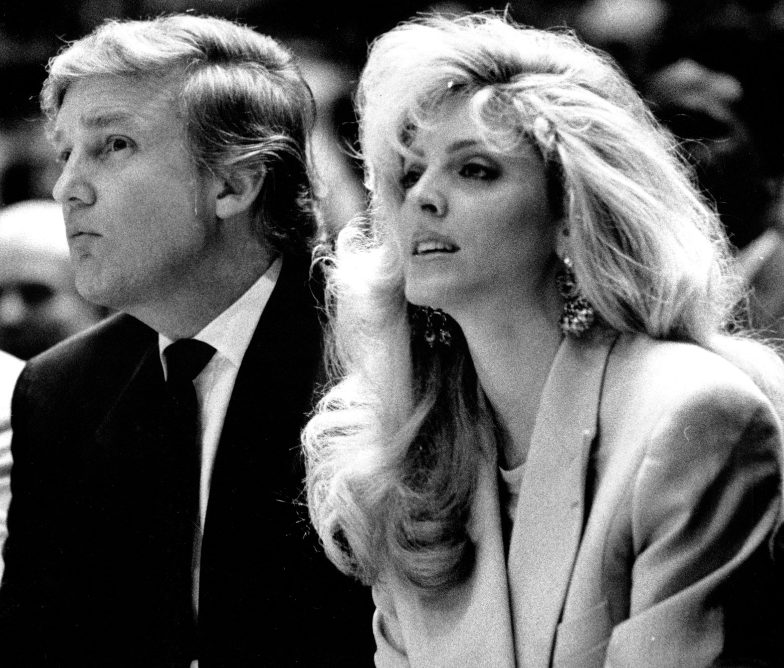 Donald Trump et Marla Maples