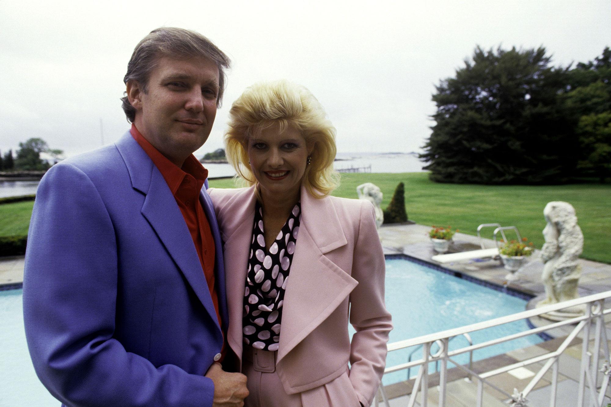 Donald et Ivana Trump