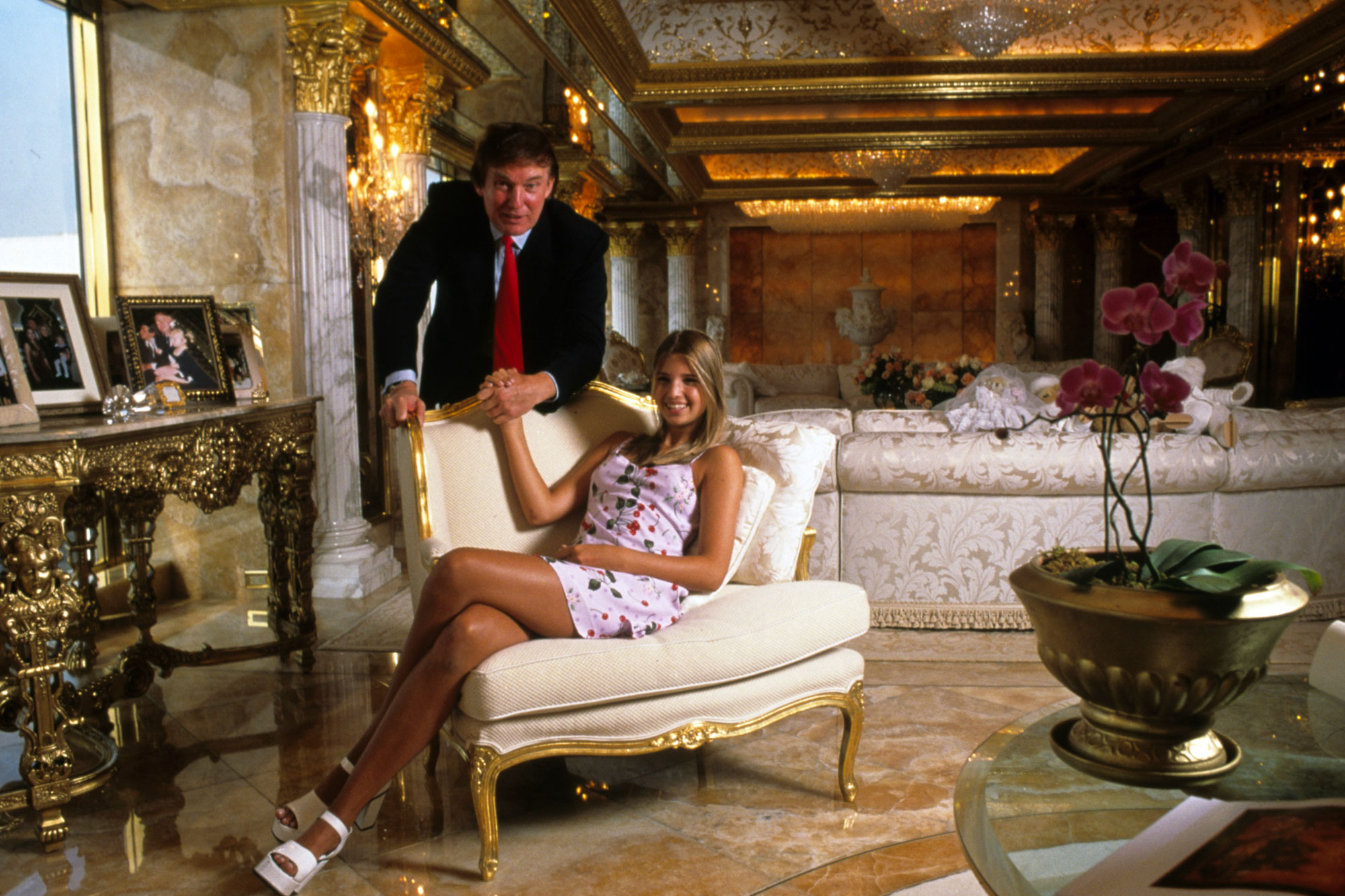 Donald Trump et Ivanka Trump