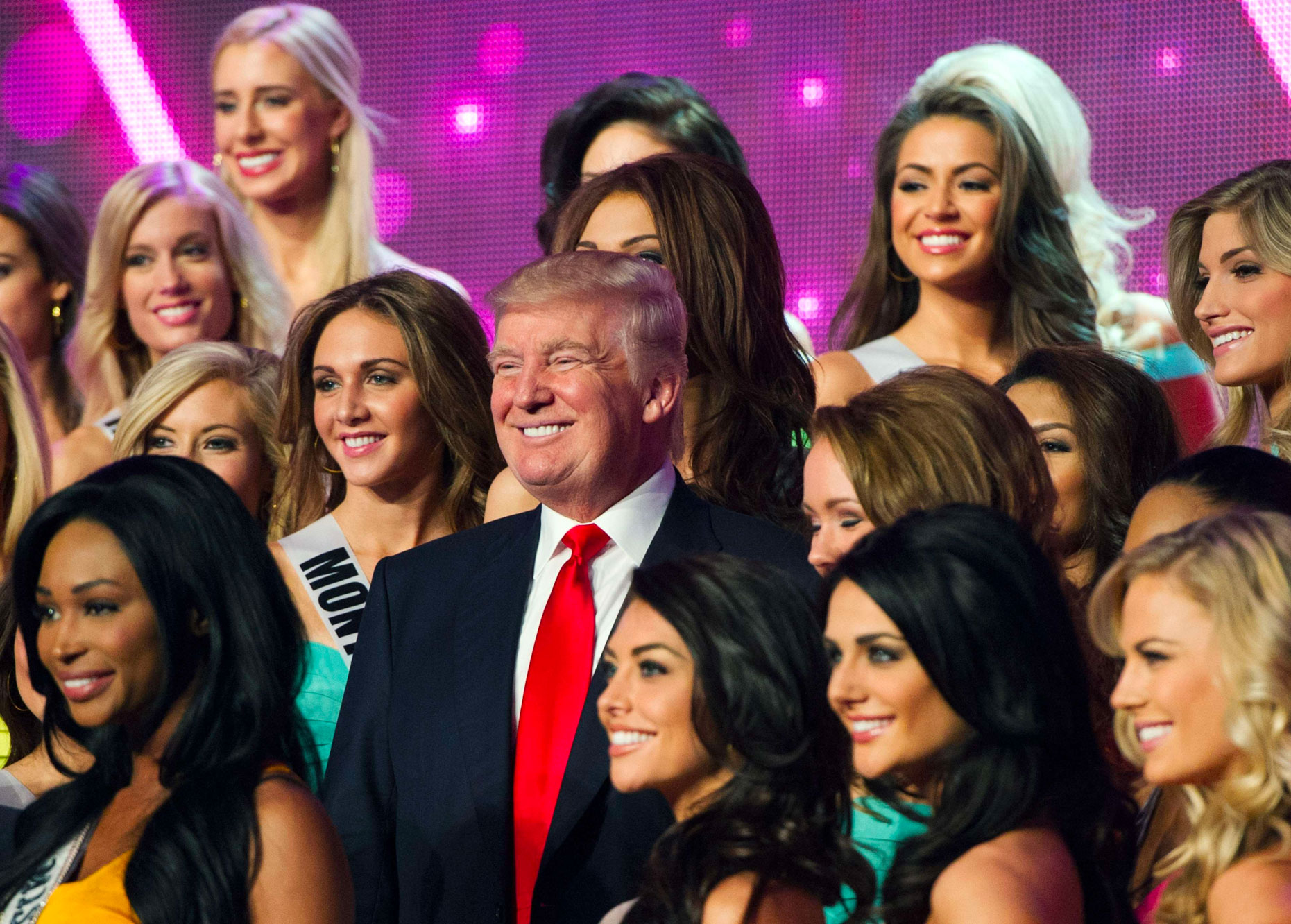 Donald Trump Miss USA 2013
