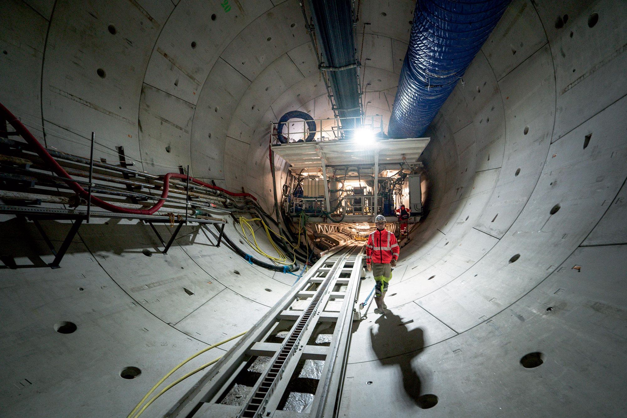 Tunnelier à Bagneux