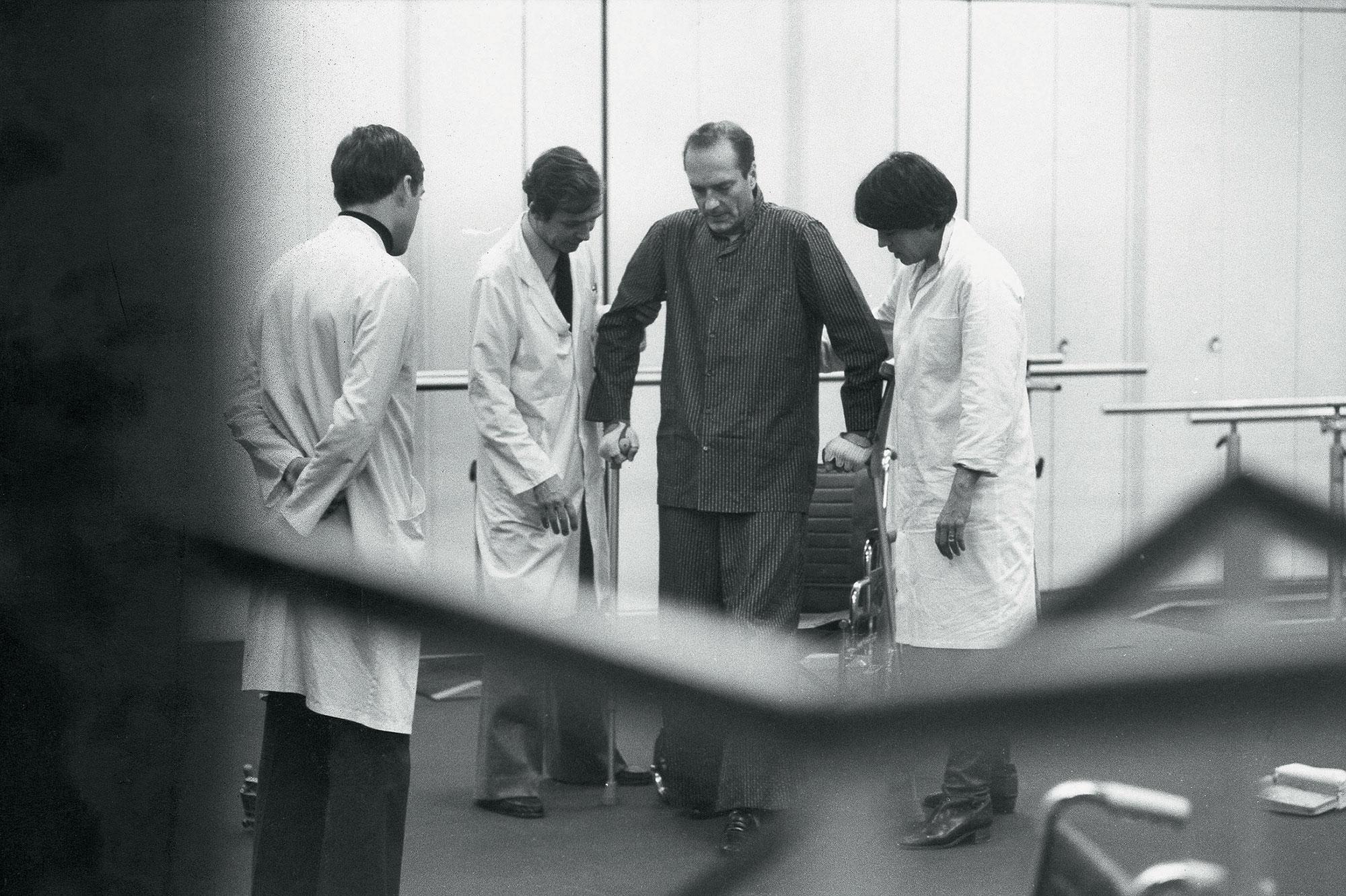 Jacques Chirac à Cochin