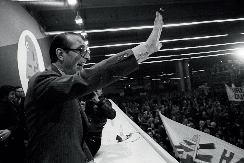 Jacques Chirac et Marie-France Garaud