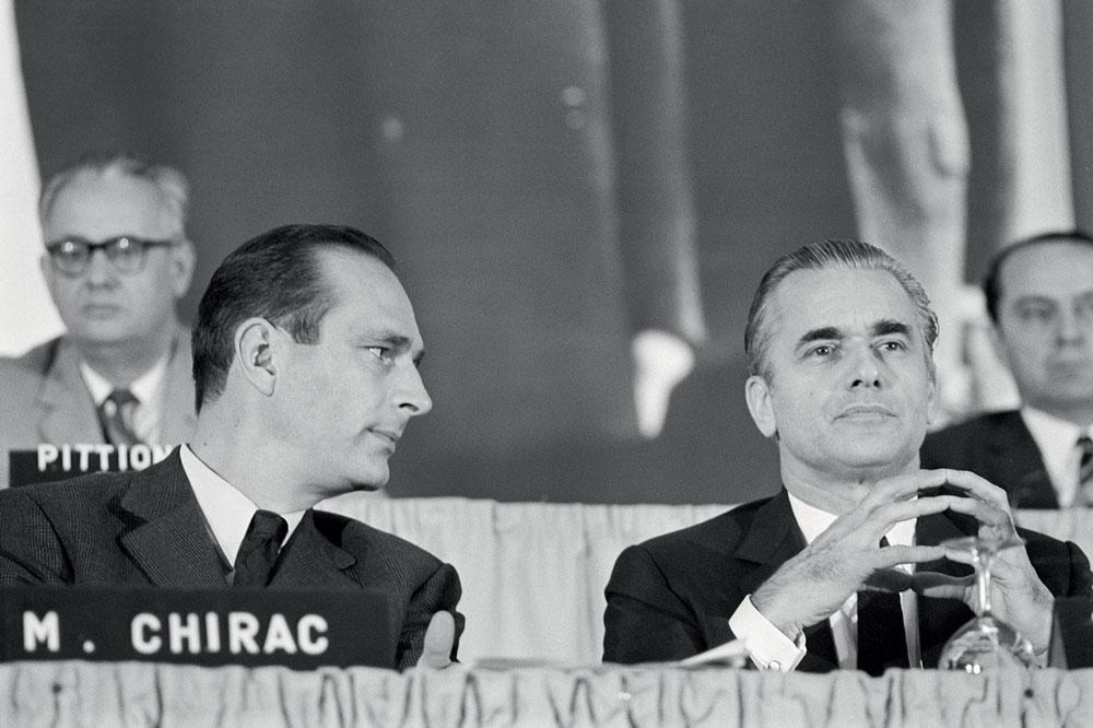 Jacques Chirac et Jacques Chaban Delmas